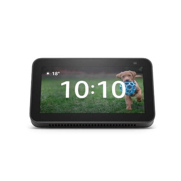 Echo Show 5 (エコーショー5) 第2世代 - スマートディスプレイ with Alexa、2メガピクセルカメラ付き チャコール B08KGY97DT [Bluetooth対応 /Wi-Fi対応]