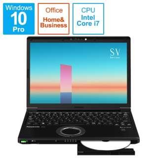CF-SV1GFNQR モバイルPC ブラック [12.1型 /intel Core i7 /SSD:512GB /メモリ:16GB]