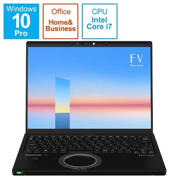 CF-FV1GFNQR ノートパソコン レッツノート FVシリーズ(LTE) ブラック [14.0型 /intel Core i7 /メモリ:16GB /SSD:512GB /2021年6月モデル]