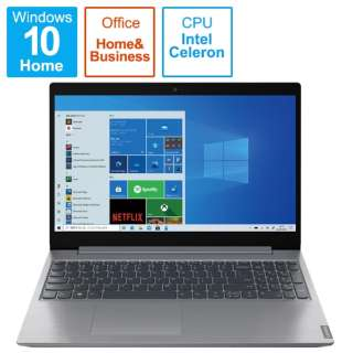 82HL0096JP ノートパソコン IdeaPad L360i プラチナグレー [15.6型 /intel Celeron /SSD:256GB /メモリ:4GB /2021年6月モデル]
