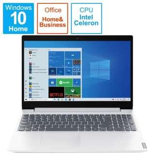 82HL0093JP ノートパソコン IdeaPad L360i ブリザードホワイト [15.6型 /intel Celeron /SSD:256GB /メモリ:4GB /2021年6月]
