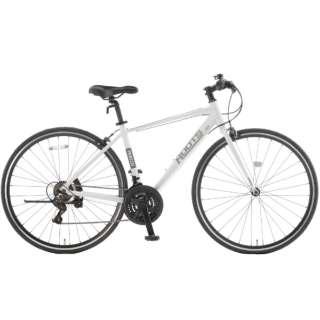700×28C クロスバイク ROOTS ルーツL21(パールホワイト/外装21段変速)SR700B【2021年モデル】 【組立商品につき返品不可】