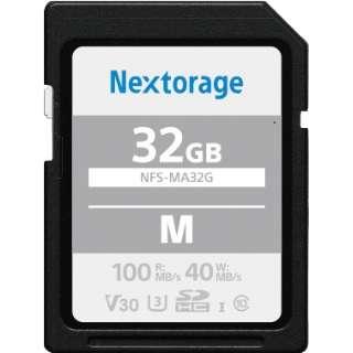 SDHCカード 32GB 【UHS-I Class10 U3 V30】 NFS-MA32G/N [32GB /Class10]