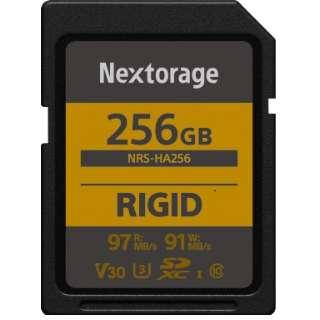 堅牢設計・防塵防水(IP68) RIGID仕様 SDXCカード 256GB 【UHS-I Class10 U3 V30】 NRS-HA256/N [256GB /Class10]