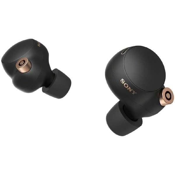 フルワイヤレスイヤホン ブラック WF1000XM4 BM [リモコン・マイク対応 /ワイヤレス(左右分離) /Bluetooth /ハイレゾ対応 /ノイズキャンセリング対応]