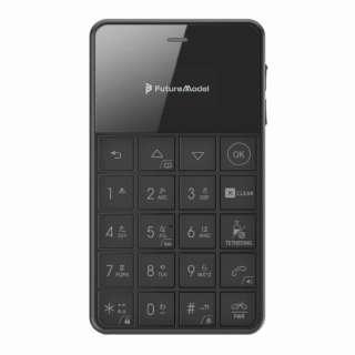 Niche Phone-S+ ブラック 「MOB-N18-01-BLACK」 0.96型 RAM / ROM:512MB/4GB nanoSIMx1 SIMフリー携帯電話