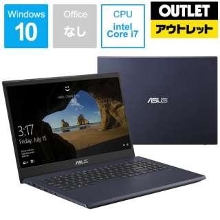 【アウトレット品】 ノートパソコン スターブラック X571GD-AL401T [15.6型 /intel Core i7 /Optane:32GB /SSD:512GB /メモリ:8GB /2019年12月モデル] 【生産完了品】