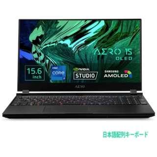 AERO15OLEDXD-73JP644SP ゲーミングノートパソコン AERO 15 [15.6型 /intel Core i7 /SSD:1TB /メモリ:32GB /2021年6月モデル]