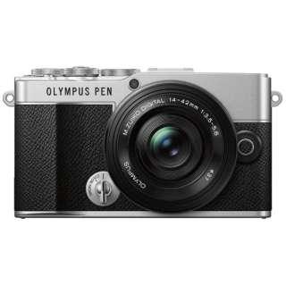 OLYMPUS PEN E-P7 14-42mm EZ レンズキット ミラーレス一眼カメラ シルバー [ズームレンズ]