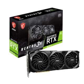 グラフィックボード GeForce RTX 3070 Ti VENTUS 3X 8G OC [GeForce RTXシリーズ /8GB]