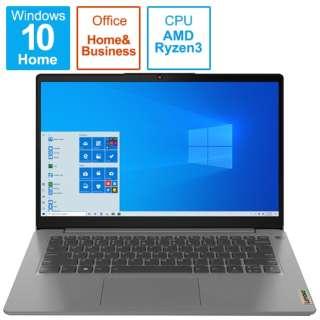 82KT00CDJP ノートパソコン IdeaPad Slim 360 アークティックグレー [14.0型 /AMD Ryzen 3 /SSD:256GB /メモリ:8GB /2021年6月モデル]