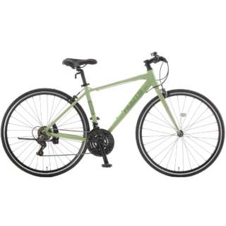 700×28C クロスバイク ROOTS ルーツL21(ライトグリーン/外装21段変速) SR700B【2021年モデル】 【組立商品につき返品不可】