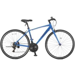 700×28C クロスバイク ROOTS ルーツL21(Nブルー2/外装21段変速) SR700B【2021年モデル】 【組立商品につき返品不可】