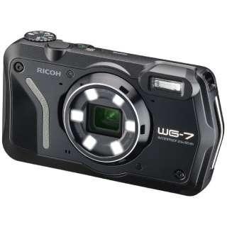 WG-7 コンパクトデジタルカメラ ブラック [防水+防塵+耐衝撃]