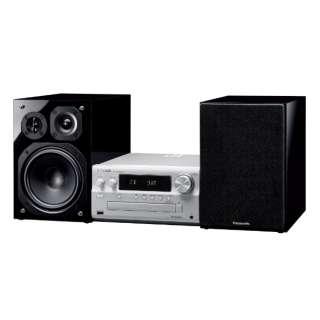 ミニコンポ シルバー SC-PMX900-S [Wi-Fi対応 /ワイドFM対応 /Bluetooth対応 /ハイレゾ対応]