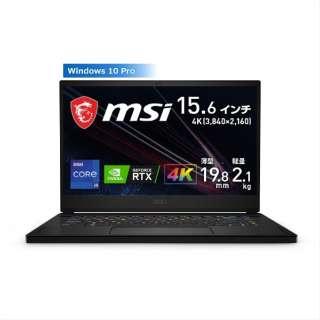 ゲーミングノートパソコン GS66 Stealth 11U ブラック GS66-11UH-321JP [15.6型 /intel Core i9 /SSD:1TB /メモリ:32GB /2021年7月モデル]