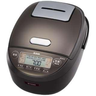炊飯器 ダークブラウン JPK-S100TD [5.5合 /圧力IH]