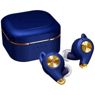 フルワイヤレスイヤホン Lapis Blue TE-D01q-BL [リモコン・マイク対応 /ワイヤレス(左右分離) /Bluetooth /ノイズキャンセリング対応]