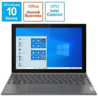 ノートパソコン IdeaPad Duet 350i グラファイトグレー 82AT00DNJP [10.1型 /intel Celeron /メモリ:4GB /eMMC:128GB /2021年7月モデル]