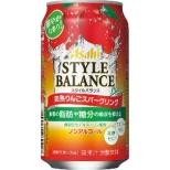 スタイルバランス 完熟りんごスパークリングテイスト 350ml 24本 【ノンアルコールチューハイ】