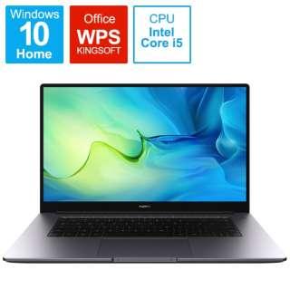 BODWDHH58CNCWNUA ノートパソコン MateBook D 15 スペースグレー [15.6型 /intel Core i5 /メモリ:8GB /SSD:512GB /2021年7月モデル]