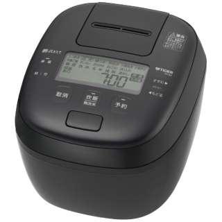 炊飯器 ブラック JPI-BK10K [5.5合 /圧力IH]
