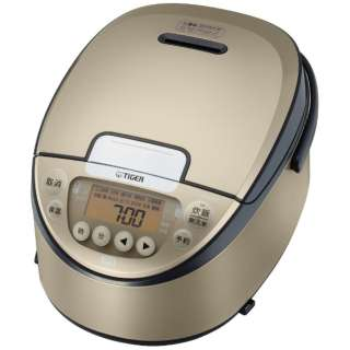 炊飯器 シャンパンゴールド JPW-A100NP [5.5合 /IH]