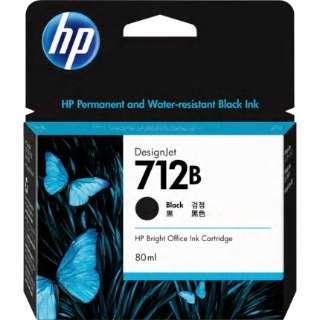 3ED29A :純正プリンターインク HP 712B ブラック 80ml