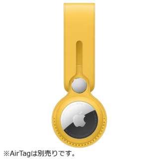 AirTag レザーループ マイヤーレモン MM003FE/A