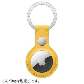 AirTag レザーキーリング マイヤーレモン MM063FE/A