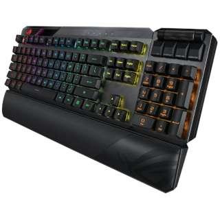 ゲーミングキーボード ROG Claymore II(英語配列) ブラック [有線・ワイヤレス /USB]