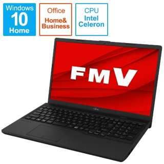 ノートパソコン FMV Lite 3315/F オーシャンブラック FMV3315FB [15.6型 /intel Celeron /メモリ:4GB /SSD:256GB /2021年夏モデル]