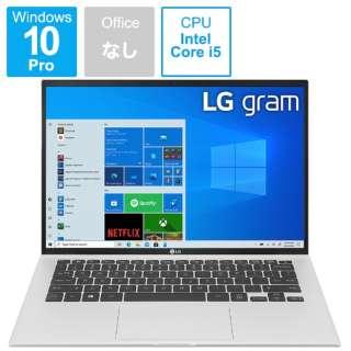 ノートパソコン gram クオーツシルバー 14Z90P-NP56J [14.0型 /intel Core i5 /メモリ:8GB /SSD:512GB /2021年7月]