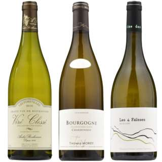 ソムリエが本気で厳選!!フランス実力派生産者の白ワイン飲み比べセット 750ml 3本【ワインセット】