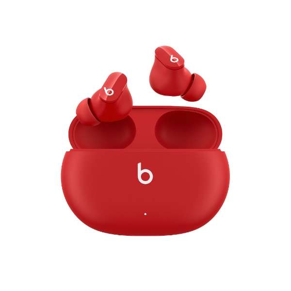 フルワイヤレスイヤホン Beats Studio Buds レッド MJ503PA/A [リモコン・マイク対応 /ワイヤレス(左右分離) /Bluetooth /ノイズキャンセリング対応]