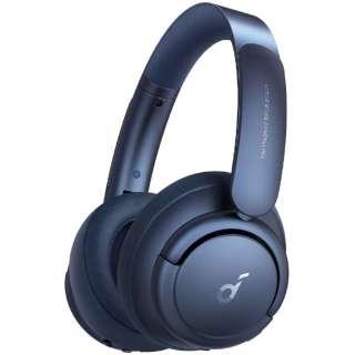 ブルートゥースヘッドホン Soundcore Life Q35 ブルー A3027031 [Bluetooth /ハイレゾ対応 /ノイズキャンセリング対応]
