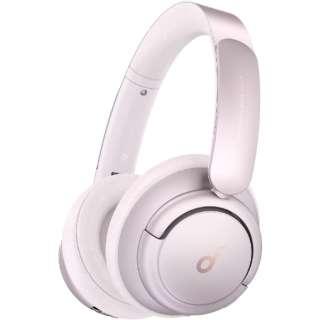 ブルートゥースヘッドホン Soundcore Life Q35 ピンク A3027051 [Bluetooth /ハイレゾ対応 /ノイズキャンセリング対応]