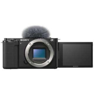 VLOGCAM ZV-E10 ミラーレス一眼カメラ ブラック [ボディ単体]