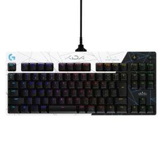 ゲーミングキーボード PRO K/DA ホワイト G-PKB-002LoL [有線 /USB]