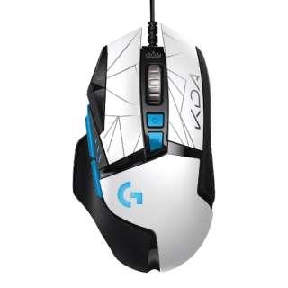 ゲーミング マウス G502 HERO K/DA G502RGBhLoL [光学式 /有線 /11ボタン /USB]