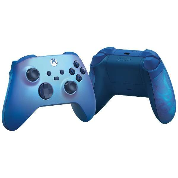 【純正】Xbox ワイヤレス コントローラー (アクア シフト) QAU-00030 【Xbox Series X S/Xbox One/PC】