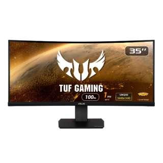 ゲーミングモニター TUF Gaming ブラック VG35VQ [35型 /UWQHD(3440×1440) /ワイド /曲面型]