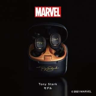フルワイヤレスイヤホン Tony Starkモデル ATH-MVL2 TS [リモコン・マイク対応 /ワイヤレス(左右分離) /Bluetooth]