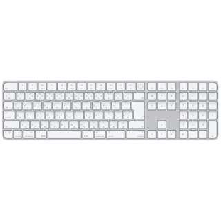 【純正】キーボード 【日本語(JIS)】Appleシリコン搭載Macモデル用Touch ID搭載Magic Keyboard(テンキー付き) MK2C3J/A [ワイヤレス /Bluetooth]