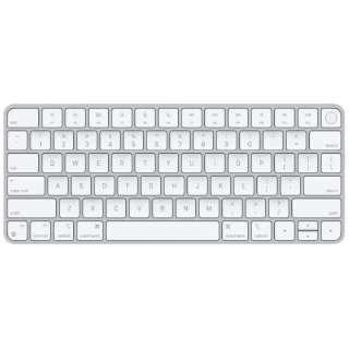 【純正】キーボード 【英語(US)】Appleシリコン搭載Macモデル用Touch ID搭載Magic Keyboard MK293LL/A [ワイヤレス /Bluetooth]