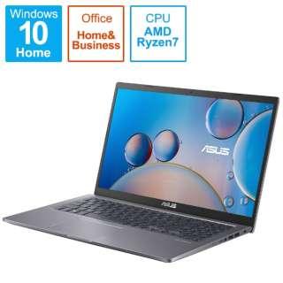 ノートパソコン M515UA スレートグレー M515UA-BQ296TS [15.6型 /AMD Ryzen 7 /メモリ:8GB /SSD:512GB /2021年8月モデル]