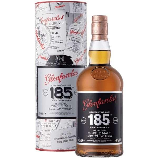 [正規品/数量限定] グレンファークラス 185周年記念ボトル 46度 700ml【ウイスキー】