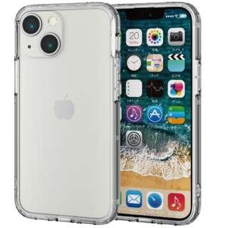 iPhone 13 mini対応 5.4inch/ハイブリッドバンパーケース PM-A21AHVBCR