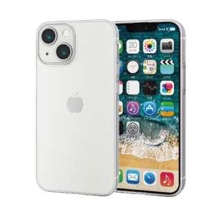 iPhone 13 mini対応 5.4inch/ソフトケース/薄型 PM-A21AUCUCR