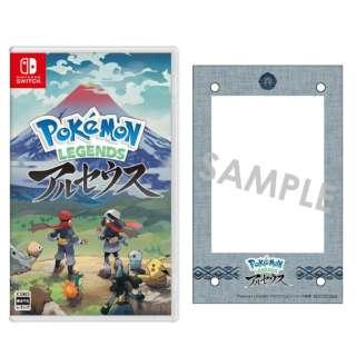 【アクリルミニフォトスタンド付き】Pokemon LEGENDS アルセウス 【Switch】